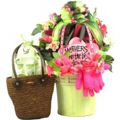 Mothers Make The Best Friends Gift Basket! -  It's a large and absolutely stunning arrangement full of gifts and keepsakes and includes plenty of spa gifts and special treats to pamper Mom on her special day!