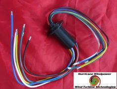 Wind Generator Slip Ring 6 Wire 180 Amp for Freedom II and Hurricane Turbine #WindGenerator