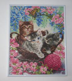Bild Diamond Kätzchen Frame, Etsy, Painting, Decor, Gifts For Cat Lovers, Artworks, Handarbeit, Creative, Picture Frame