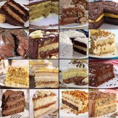 15 Recipes for Cake Fillings Köstliche Desserts, Delicious Desserts, Yummy Food, Easy Cake Decorating, Cake Fillings, Cake Boss, Creative Cakes, Mini Cakes, Cakes And More