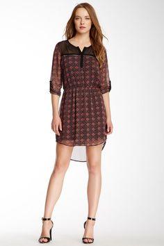 Daniel Rainn Rolled Sleeve Printed Dress by Assorted on @HauteLook