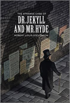 32) The Strange Case of Dr Jekyll and Mr Hyde, Robert Louis Stevenson, 1886 (illustration by Scott McKowen)