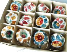 Vintage Indent Ornaments~Antique German