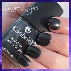 Brooke Anderson for Gabriel Cosmetics: Hush Hush | lacqueredgeek.com