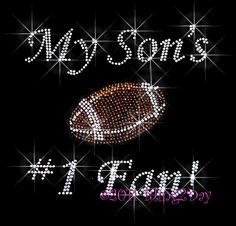 My Sons Number 1 Fan - Football Mom