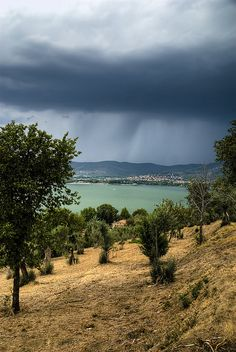 Lake Trasimeno (between Tuscany and Umbria) Italy, province of Perugia