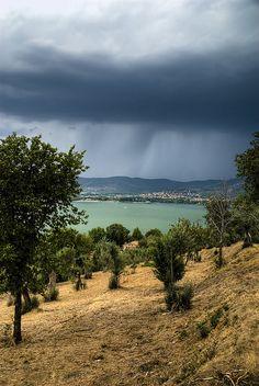 Lake Trasimeno (between Tuscany and Umbria) Italy