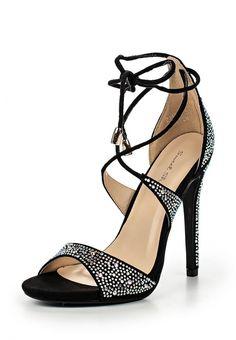 Босоножки Sweet Shoes  Босоножки Sweet Shoes. Цвет: черный. Материал: искусственная замша. Сезон: Весна-лето 2016. Одежда, обувь и аксессуары/Обувь/Женская обувь/Босоножки