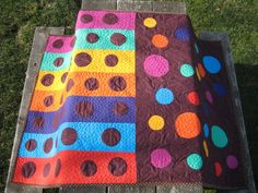 1000 Images About Simple Circle Quilts On Pinterest