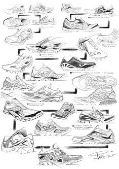 footwear sketches by Pedro Manzanero Villanueva at Coroflot.com