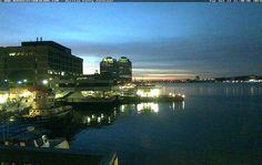 Nova Scotia Webcams - Ferry Terminal   The Cable Wharf, Halifax