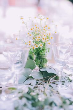 Whimsical wedding tablescapes.