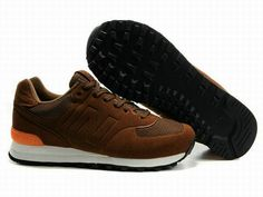 Joes New Balance MS574 Brown Orange White Sonic Mens Shoes