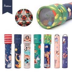 Mideer kaleidoscope Imaginative Cartoon Fancy World Kids Gift Interactive Logical Magic STEM Educational Toys for Children
