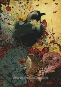 Edward Julius Detmold was born in London 1883, the twin brother of Charles Maurice. He is well known