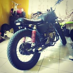 Home made. Streettracker