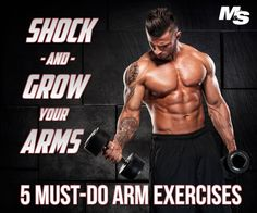 5 must do arm exercises. Alex Savve from Pharmafreak® and SD Pharmaceuticals™ reveals his arm growing arsenal: five potent bicep and tricep exercises you may have never tried.