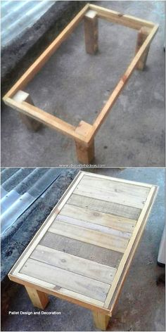 Wooden pallet projects Wood pallet tables Wooden pallet table Wood pallet furniture Wood diy Pallet diy - Latest and Fresh DIY Wood Pallet Ideas 2019 - Diy Wood Pallet, Wooden Pallet Table, Wooden Pallet Projects, Wooden Pallet Furniture, Small Wood Projects, Woodworking Furniture, Wooden Pallets, Wooden Diy, Diy Woodworking