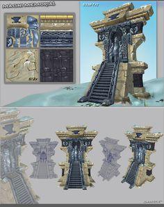 Magni Bronzebeard Memorial - 3D by Journeyful.deviantart.com on @DeviantArt
