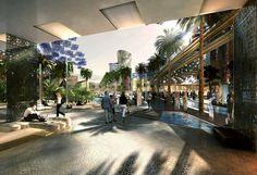 2006,  Governo de Abu Dhabi, nos Emirados Árabes, anunciou a construção de Masdar City, a 1ª cidade totalmente sustentável do mundo. A obra iniciou com previsão de término p/ 2016 mas c/ a recessão econômica global, os investimentos diminuíram e os planos tiveram que ser revistos. A expectativa de conclusão agora é entre 2021 e 2025, e a população não deverá exceder 40 mil pessoas. Masdar funcionará a partir de energias renováveis, como solar, eólica e de hidrogênio. Não haverá emissão....
