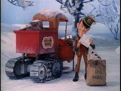 Santa Claus is Coming to Town, mailbag - December Christmas Tv Shows, Old Christmas Movies, Magical Christmas, Christmas Past, Christmas Music, All Things Christmas, Vintage Christmas, Christmas Holidays, Christmas Specials