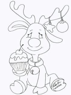 Christmas drawing Source by Animal Coloring Pages, Coloring Book Pages, Christmas Colors, Christmas Art, Christmas Coloring Sheets, Illustration Noel, Christmas Drawing, Christmas Embroidery, Christmas Printables