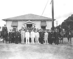 New Orleans Police Department 10th Precinct Station on City Park Ave in 1930's
