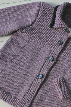 Strik til børn: Fin forårsfrakke til de mindste | Femina