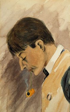 """Tom Thomson <em>Self Portrait (after a day in Tacoma, June 30, 1902)</em> 1902 Courtesy Tom Thomson Art Gallery"""" style=""""border: none; clear: both;"""" /> <td> </tr> <tr> <td> <p class="""