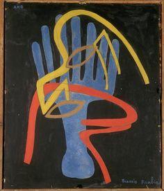 Francis Picabia Main mystérieuse, c.1938-1942. Musée d'Art, Strasbourg.