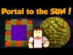 How to Make a Portal to the MOON in Minecraft (No Mods) - YouTube