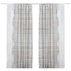 curtain version of Malin Trad panels, also works with ceiling track, $39.99