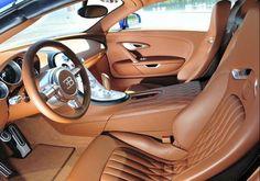 Luxury Sport Car Interior - Bugatti Veyron Grand Sport
