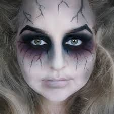 Image result for creepy witch makeup