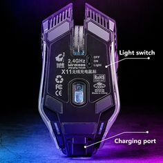 Freewolf X11 1600DPI 2.4GHz Wireless Mute Rechargeable Mouse LED Backlit Optical Gaming Mice 4g Wireless, Office And School Supplies, Laptop Accessories, Computer Mouse, Gaming, Usb, Mice, Ebay, Pc Mouse