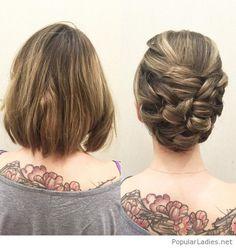 Frisur Für Kurze Haare Screenshots Frisur Hochgesteckt Haare