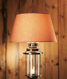 Grand River Lodge™ Large Lantern Table Lamp via Cabela's