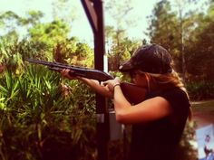 skeet shooting!! and did pretty well at that!