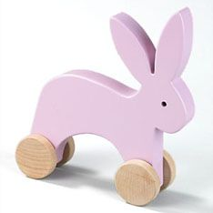 dwell push toy animal bunny