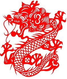 Chinese dragon paper cut pattern collection | Xinblog