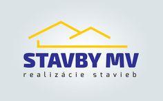 Tvorba logotypu pre firmu STAVBY MV, s.r.o.. Vytvoríme logo vašej firme. Tvorba logomanuálu, firemnej identity.