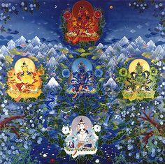 Sabedoria dos cinco elementos Mahayana Buddhism, Spiritual Transformation, Meditation, Spirituality, Alchemy, Painting, Cooking, Food, Tibet