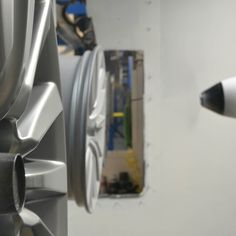 Our automated painting system guarantees a perfect finish every time! Only in America @ SB Wheel Manufacturing! #sb #sbwheel #sbwheelmfg #nascarwheels #nascaroffroad
