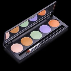 Teint - Palette correctrice 5 couleurs (15 g) Maquillage pas cher