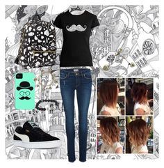 """""""Quirky Town"""" by cheshire-cat404 on Polyvore featuring Graham & Brown, Paige Denim, Los Angeles Pop Art, By Lassen, Betsey Johnson, King Baby Studio, Chanel and Puma"""