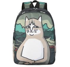 Aliexpress.com : Buy Cat Canvas Backpack Girls Teen Girls School Bag Funny Cute Print Backpacks Large Graffiti Bags mochila from Reliable bag mochila suppliers on zhengzheng Store