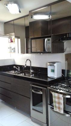 Willian Bill: Cozinha - pouco espaço e muita louça