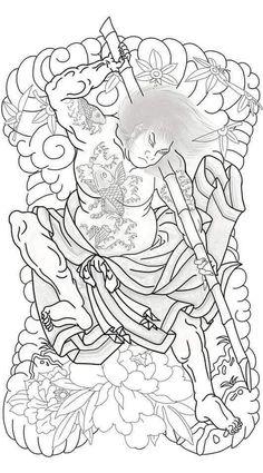 Asian Tattoos, Leg Tattoos, Sleeve Tattoos, Japanese Tattoo Symbols, Japanese Tattoo Art, Samurai Tattoo, Yakuza Tattoo, Shiva Tattoo Design, Traditional Japanese Tattoos