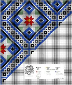 Bringeklut 04 Scandinavian Embroidery, Diy Projects To Try, Cross Stitching, Hand Embroidery, Cross Stitch Patterns, Folk Art, Needlework, Quilts, Beads