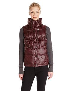 prAna Living Womens Milly Vest XSmall Mahogany ** Read more reviews of the product by visiting the link on the image. (This is an affiliate link)